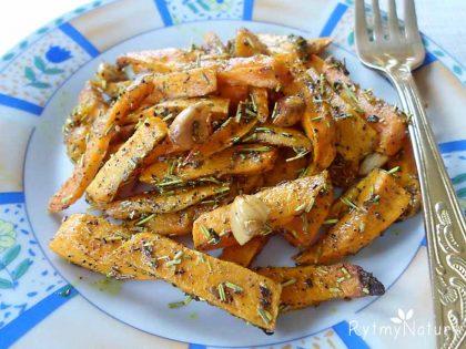 frytki z batatow
