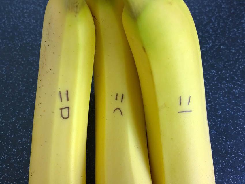 radioaktywne banany