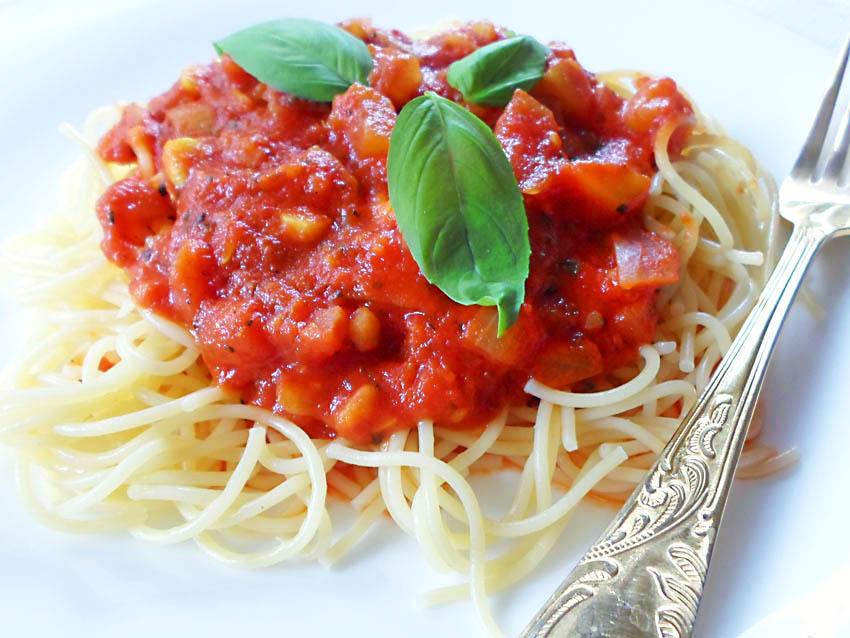 jak zrobić spagetti z cukinią