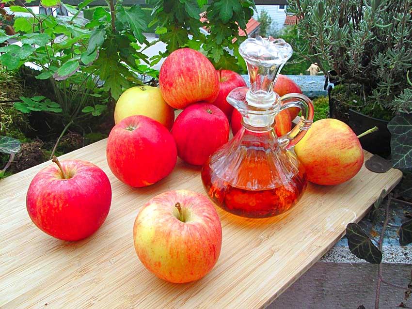 jak stosować ocet jabłkowy